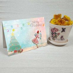 کارت پستال کریسمس کد 4684 کلاسیک