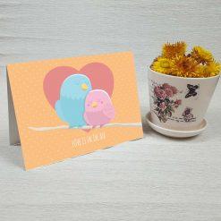 کارت پستال عاشقانه کد 3069 کلاسیک