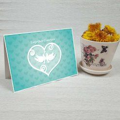 کارت پستال عاشقانه کد 3064 کلاسیک