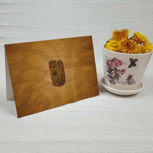 کارت پستال عاشقانه کد 3595 کلاسیک
