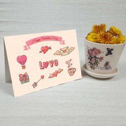 کارت پستال ولنتاین کد 2011 کلاسیک