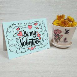 کارت پستال ولنتاین کد 2052 کلاسیک