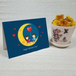 کارت پستال ولنتاین کد 2056 کلاسیک