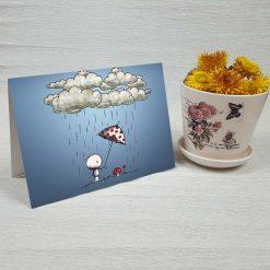 کارت پستال عاشقانه کد 3587 کلاسیک