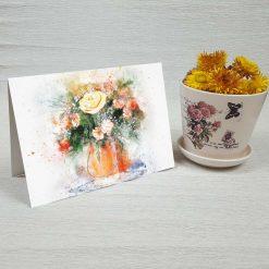 کارت پستال طبیعت کد 4698 کلاسیک