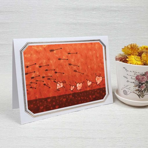 کارت پستال عاشقانه کد 3596 لوکس