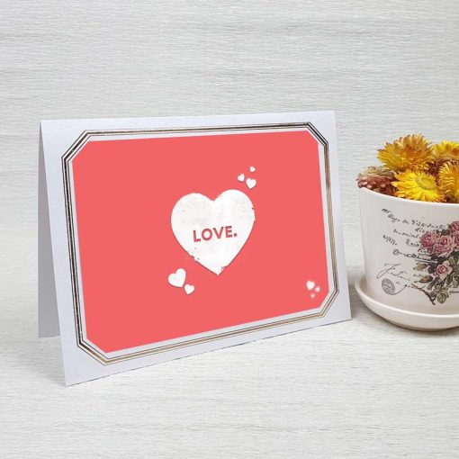 کارت پستال عاشقانه کد 3584 لوکس