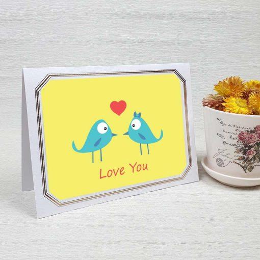 کارت پستال عاشقانه کد 3573 لوکس