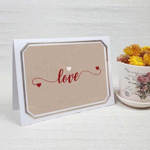 کارت پستال عاشقانه کد 3570 لوکس