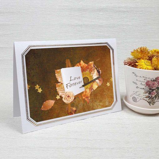 کارت پستال عاشقانه کد 3585 لوکس