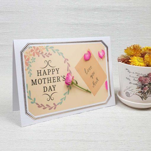 کارت پستال روز مادر کد 4724 لوکس