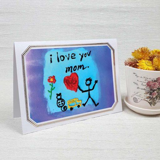 کارت پستال روز مادر کد 4725 لوکس