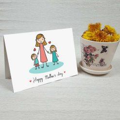 کارت پستال روز مادر کد 2150 کلاسیک