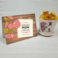 کارت پستال روز مادر کد 2156 کلاسیک