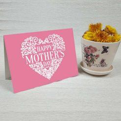 کارت پستال روز مادر کد 2158 کلاسیک