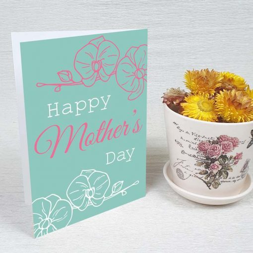 کارت پستال روز مادر کد 2167 کلاسیک