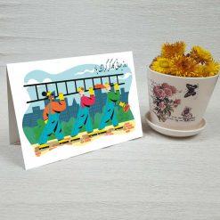 کارت پستال روز کارگر کد 3233 کلاسیک