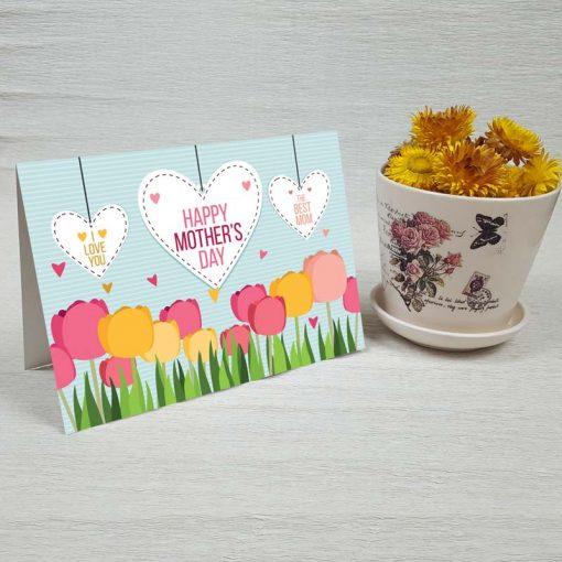 کارت پستال روز مادر کد 4116 کلاسیک