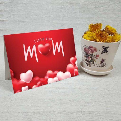 کارت پستال روز مادر کد 4720 کلاسیک