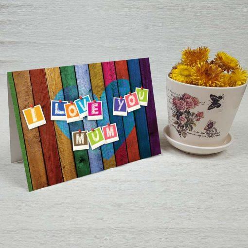 کارت پستال روز مادر کد 4730 کلاسیک